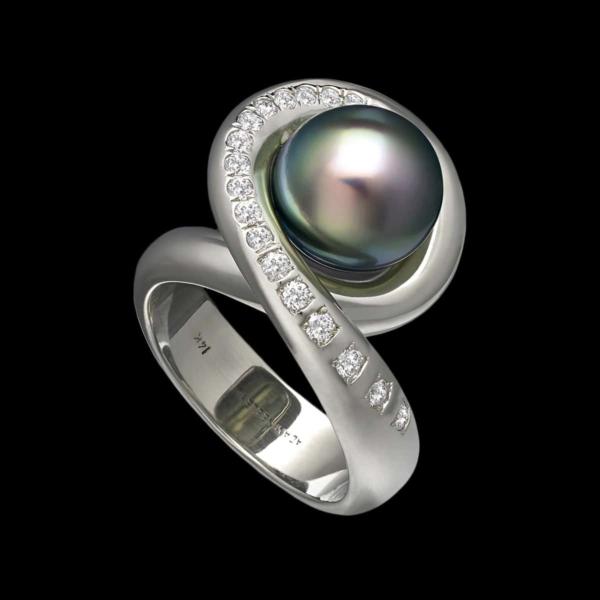 tahitian pearl ring aria