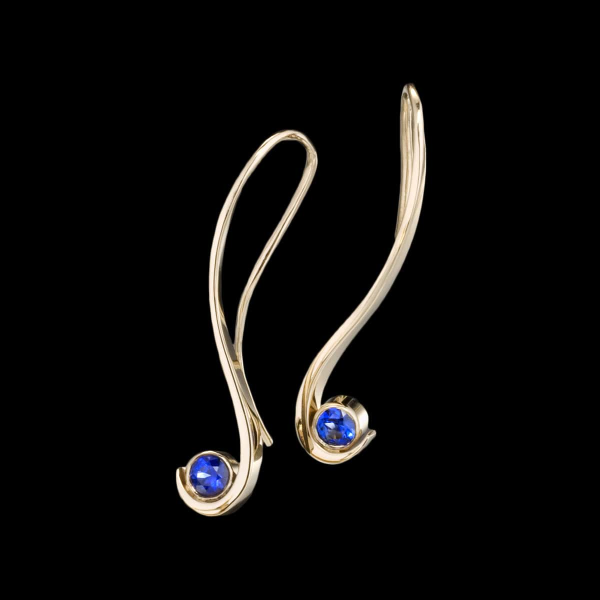 Grace sapphire earrings