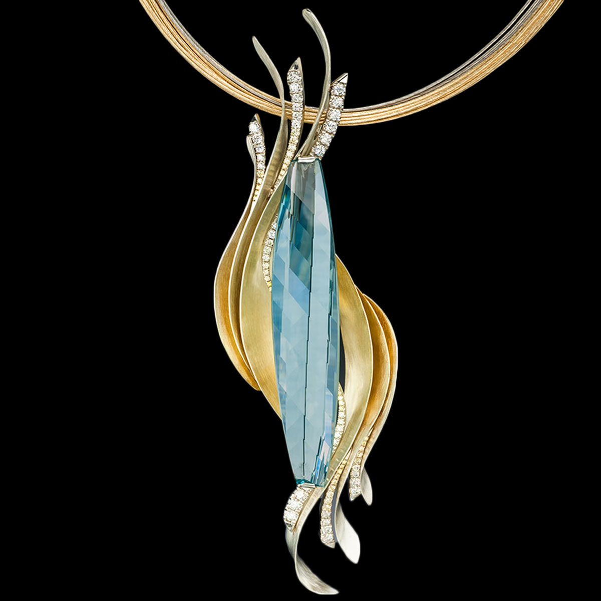Stephen Avery Gemstone Jewelry Oceana Pendant