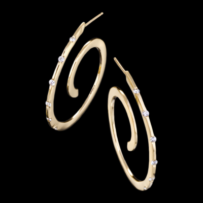 Spirale Diamond Jewelry - Spirale diamond earrings