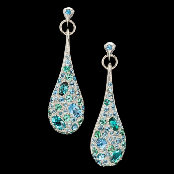 Caribbean Dream Aquamarine Earrings