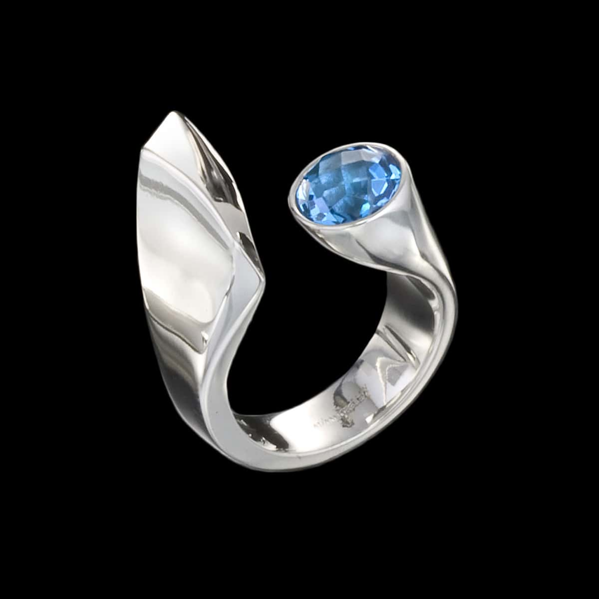 Dolce Ring Blue Topaz