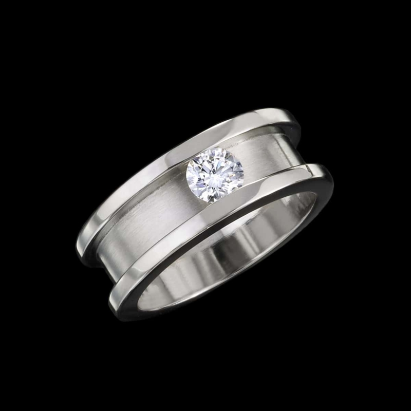 Eclipse Ring Men's Diamond