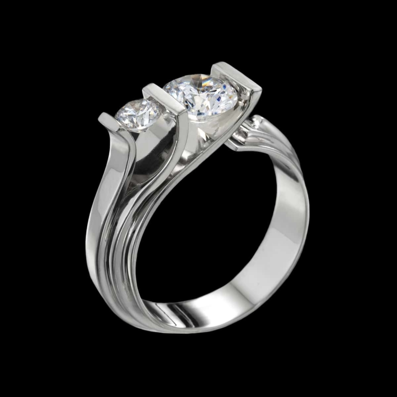 fiore diamond ring