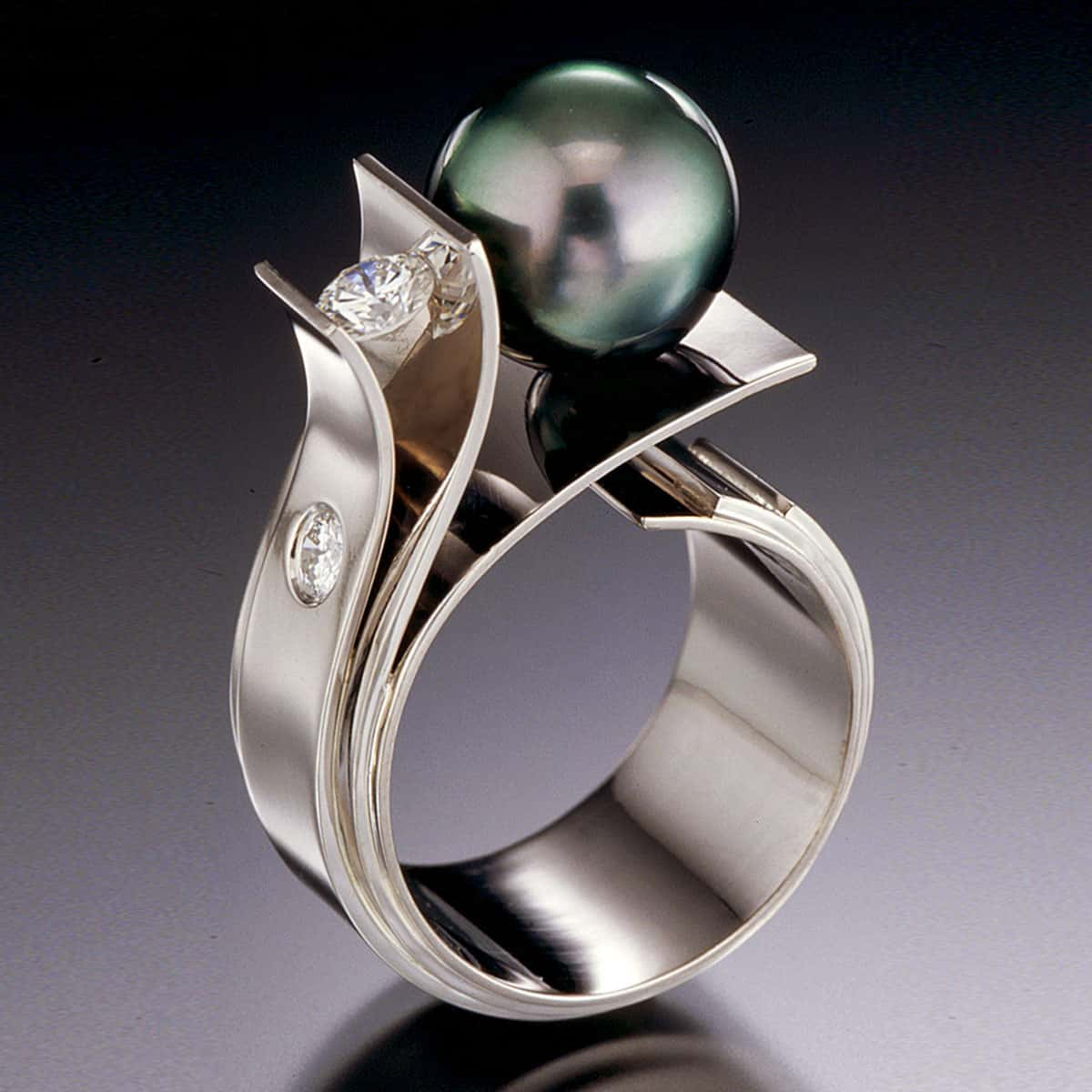 tahitian pearl trophy winner fiore del mare ring