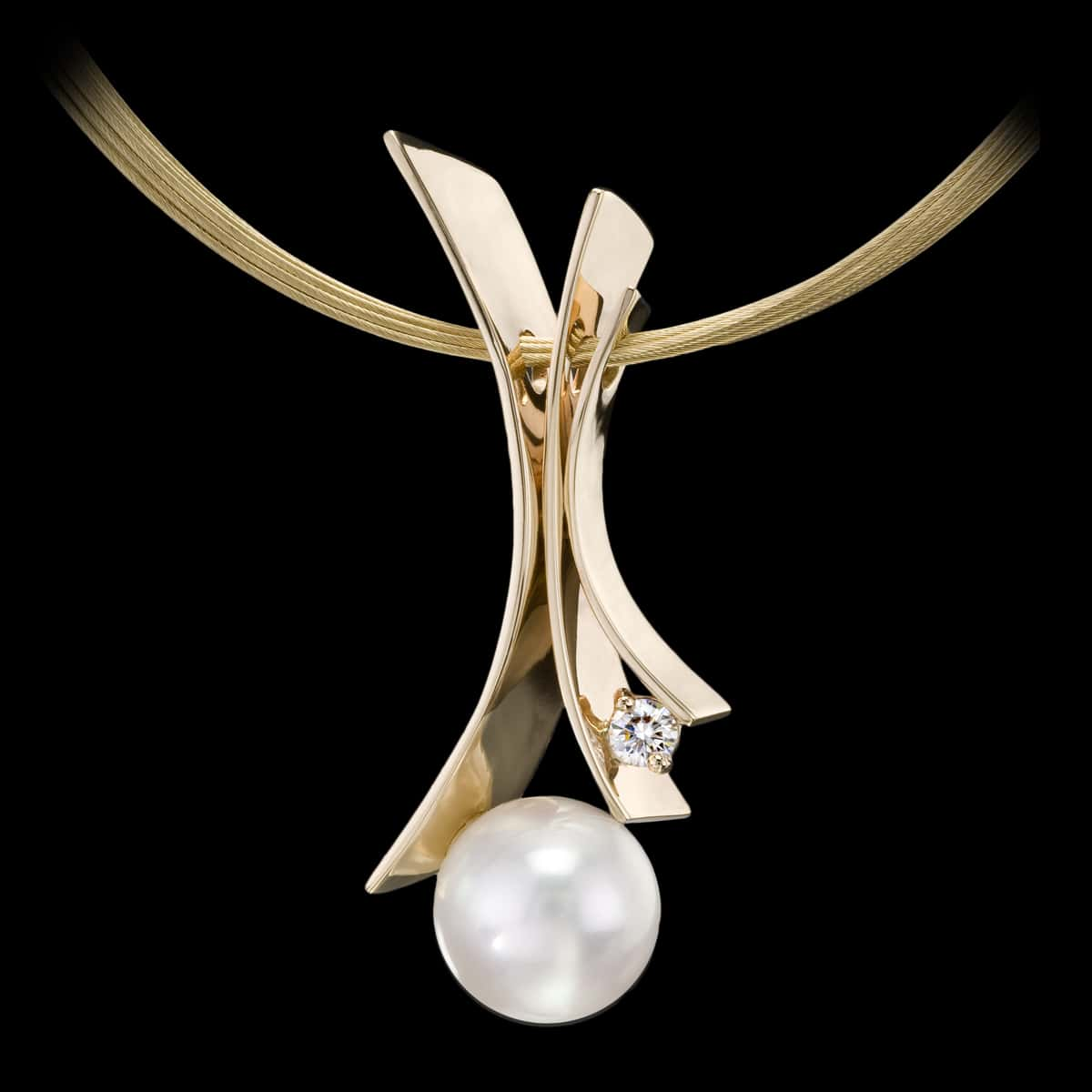 Fiore del Mare South Sea Pearl Pendant