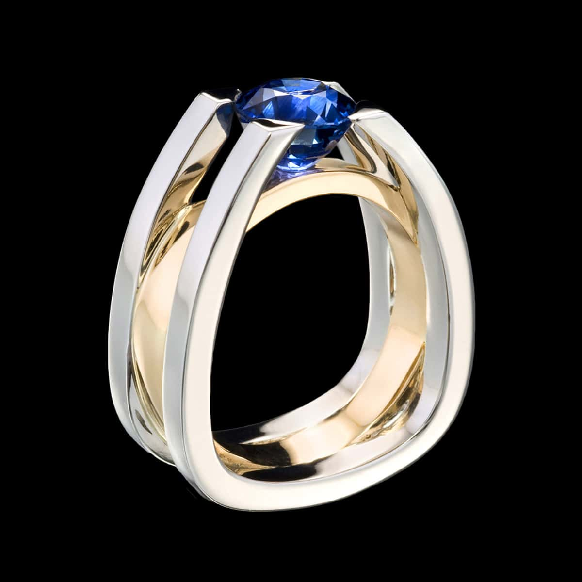 forte sapphire ring