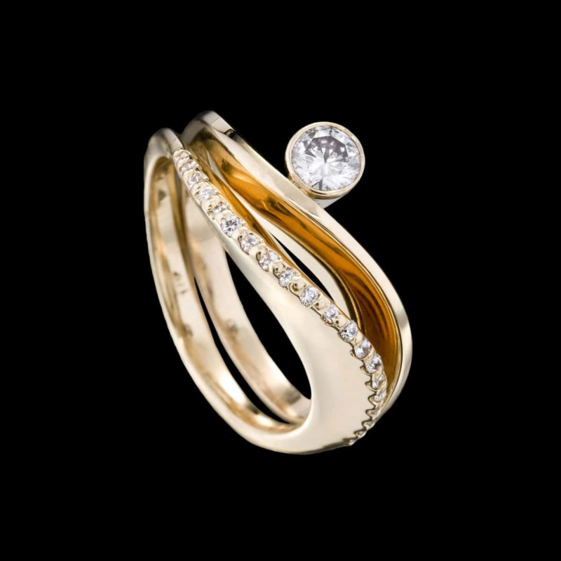 Covet and Grace Diamond Rings