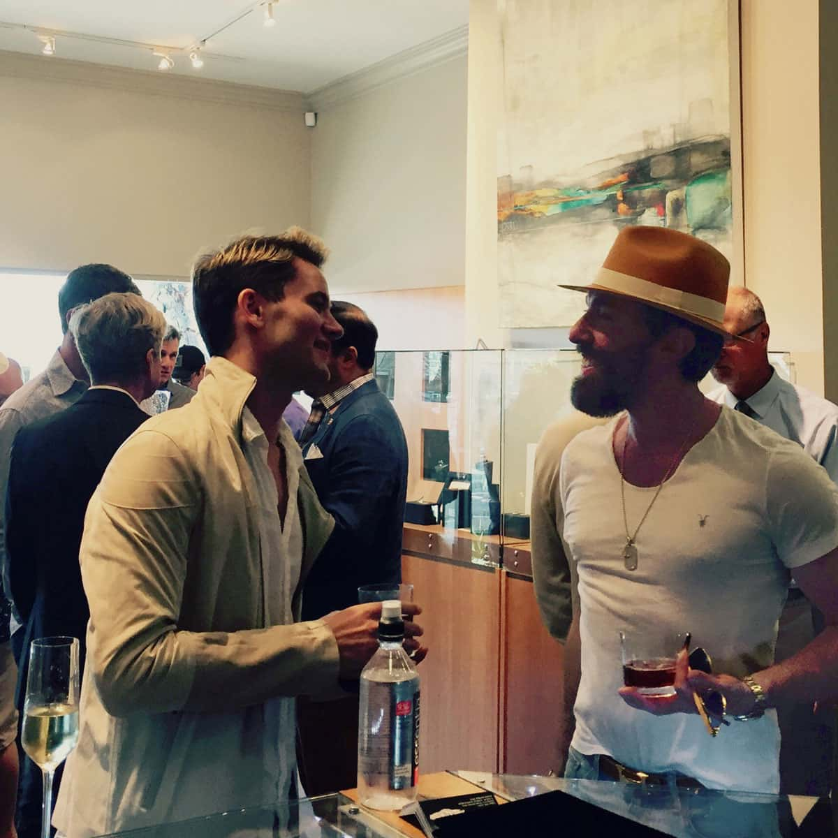 Men's Collection Debut Cocktail Party