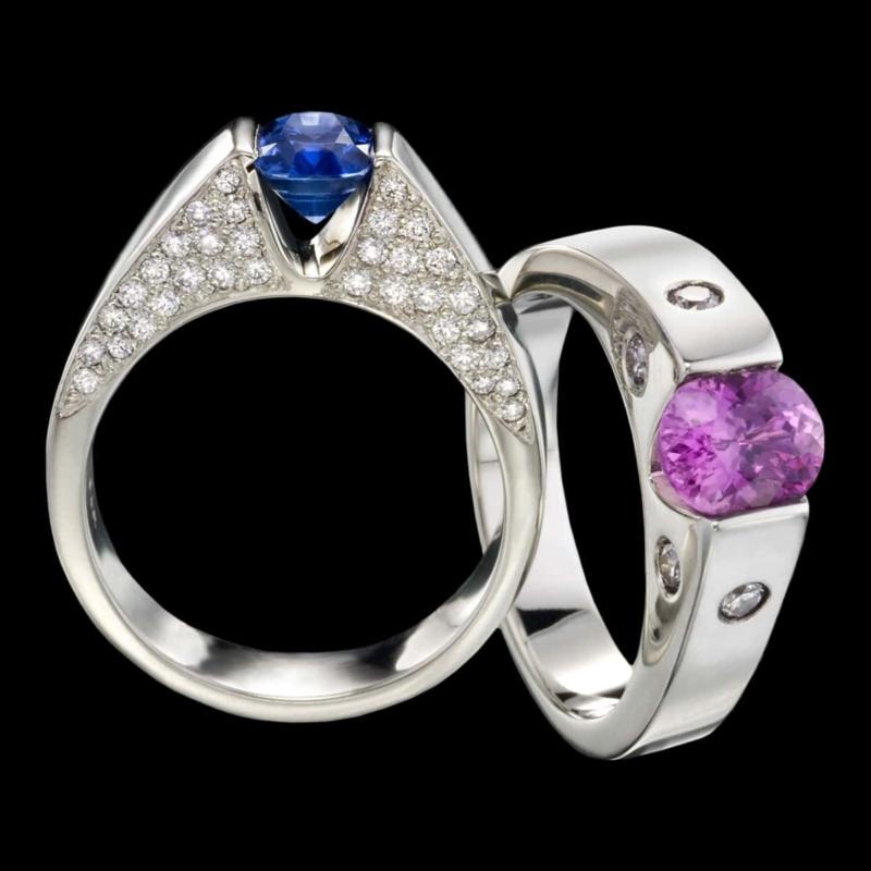 sapphire jewelry omni sapphire ring