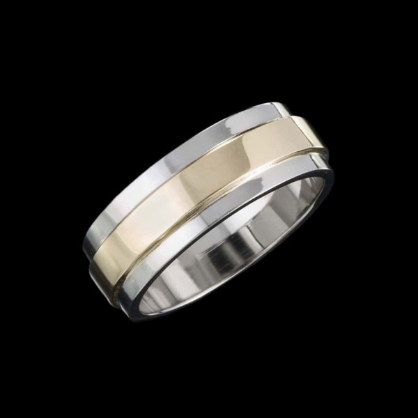 trio men's ring