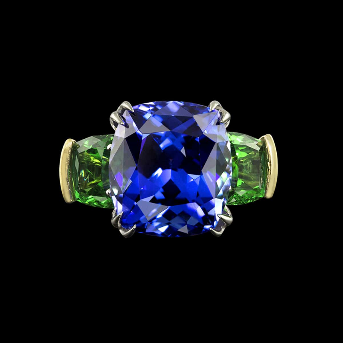 allegre tanzanite ring
