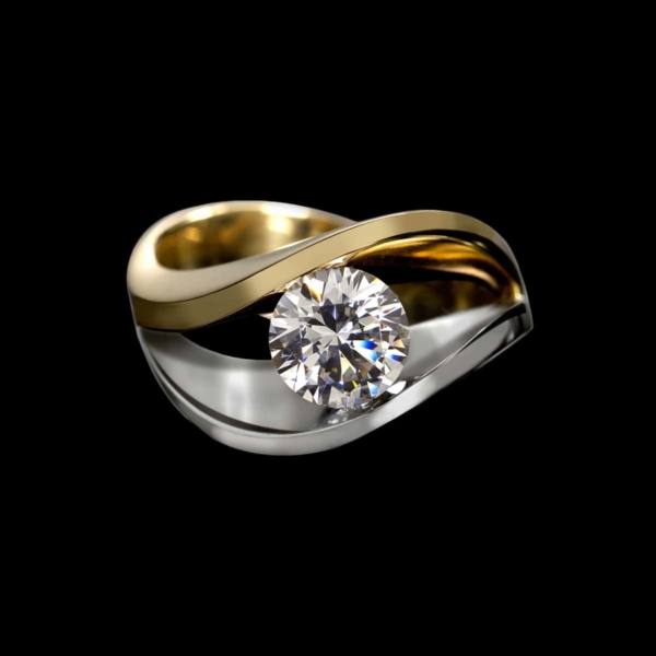 covet duo diamond ring