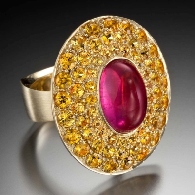 delicious tourmaline ring