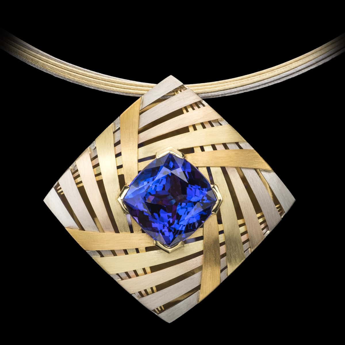 Revealing the Cosmos Pendant Tanzanite