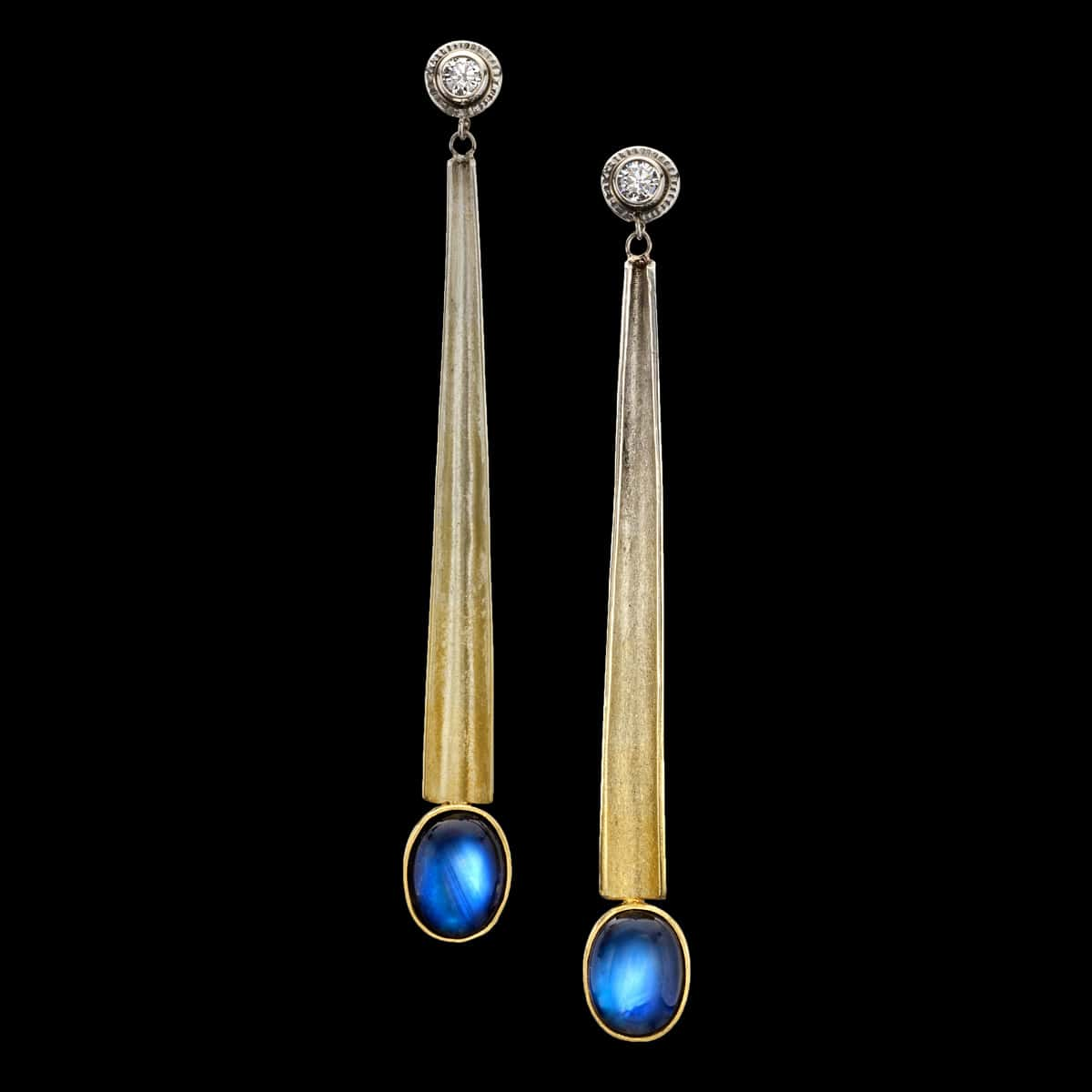 Egyptian Moonstone Earrings
