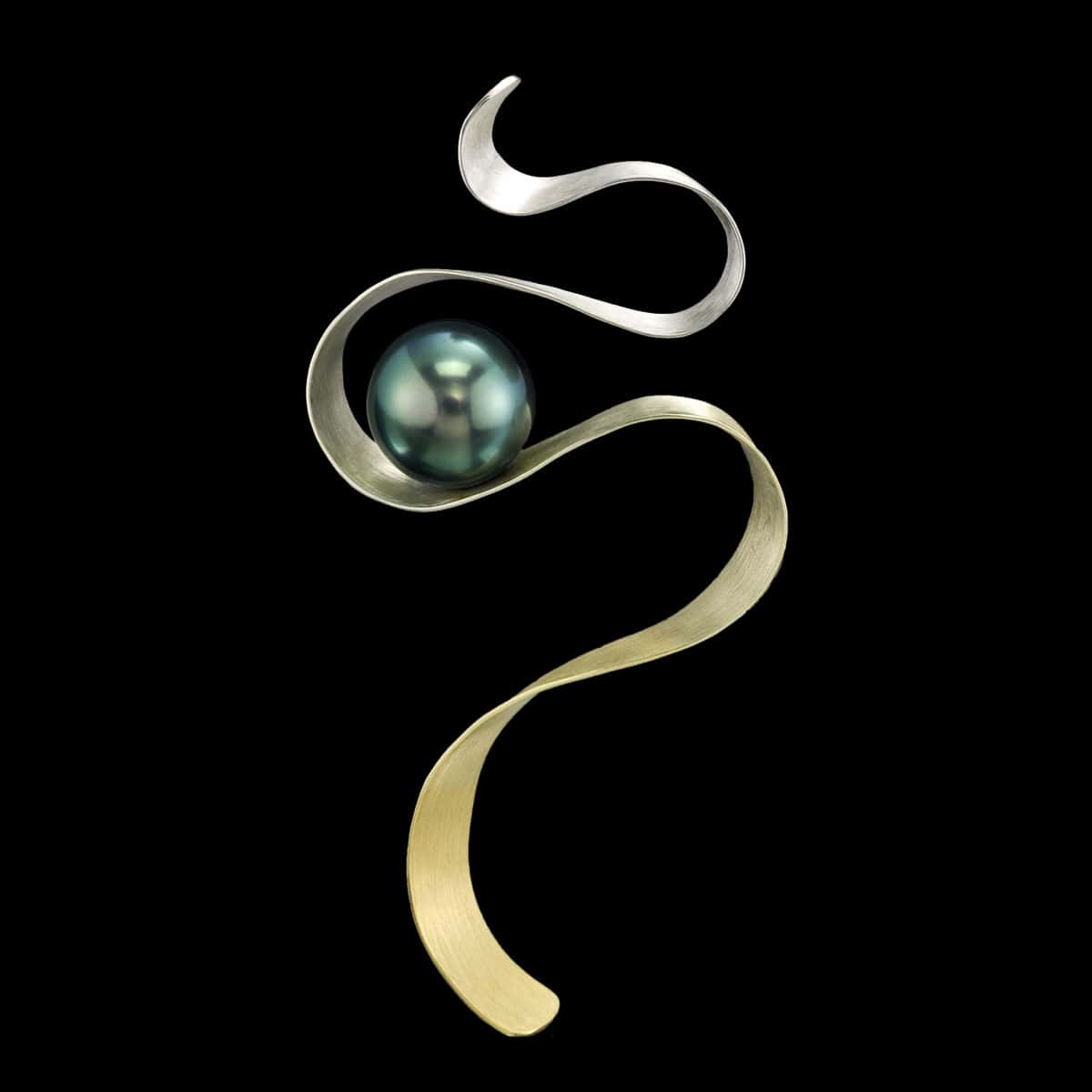Tahitian Pearl Pin Captivate