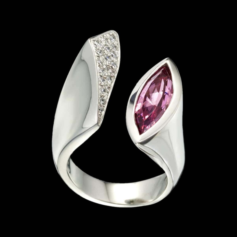 Poise Spinel Ring