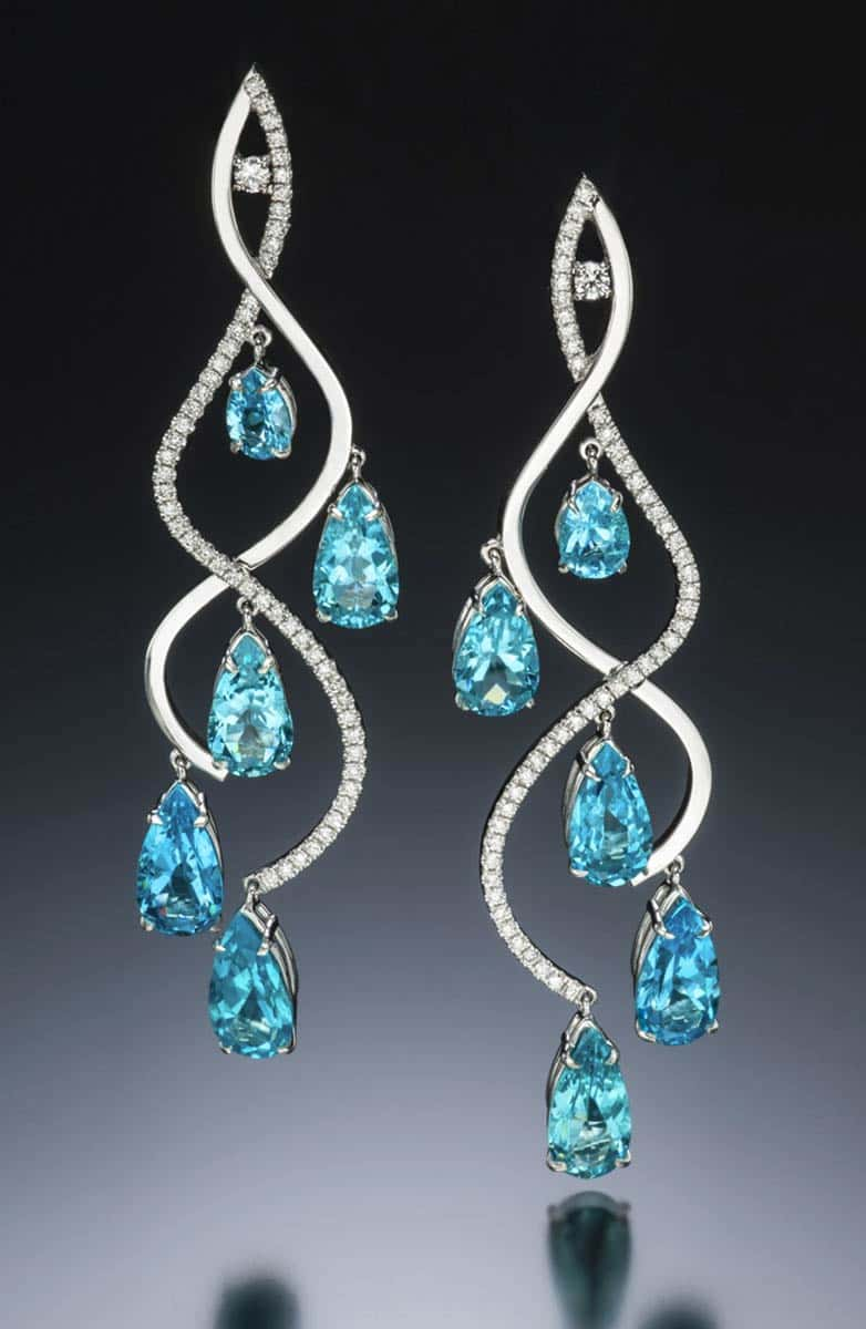 Stilla Apatite Earrings