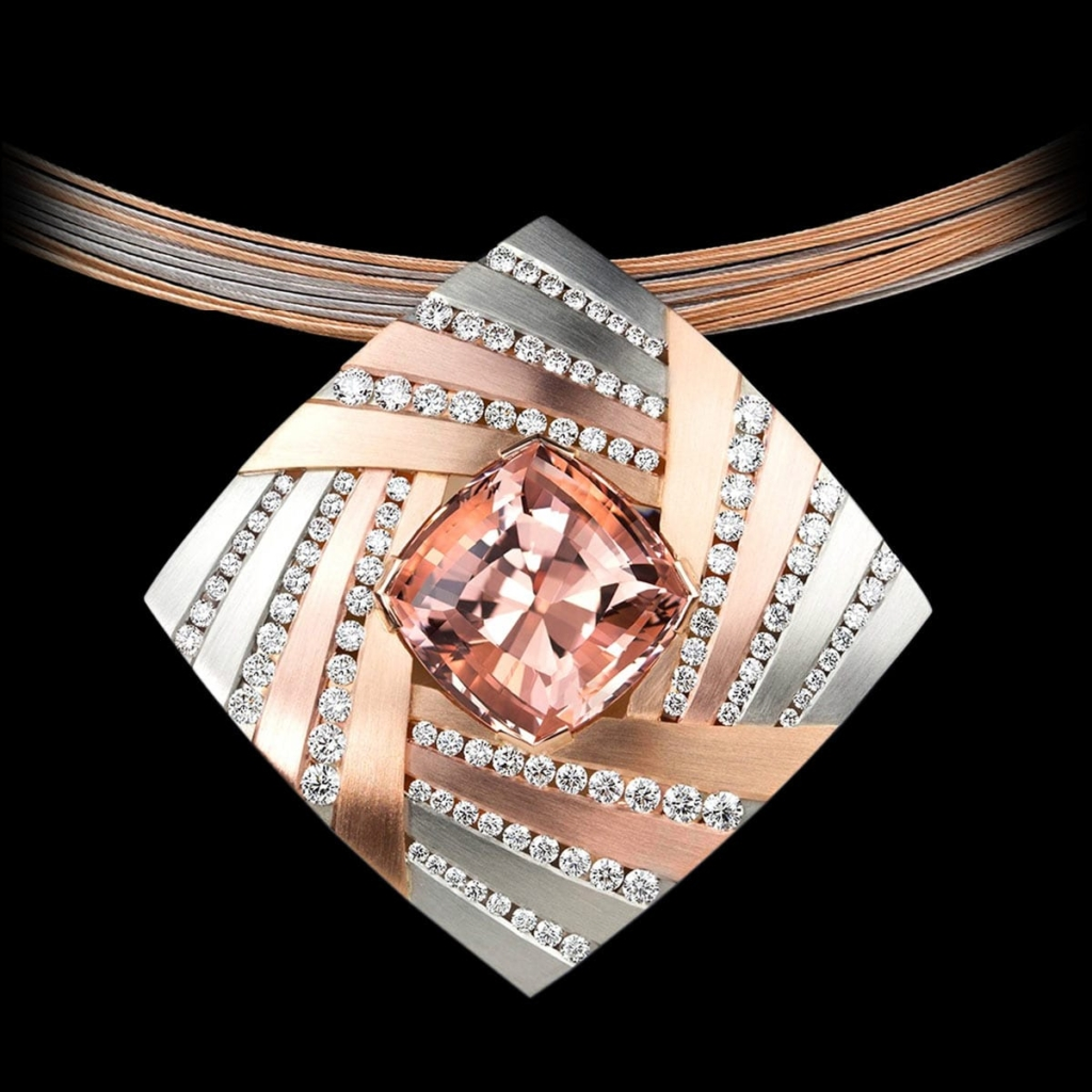 cosmos morganite pendant AGTA Spectrum Awards 2017