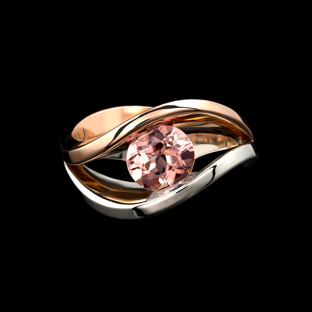 Covet duo spinel ring