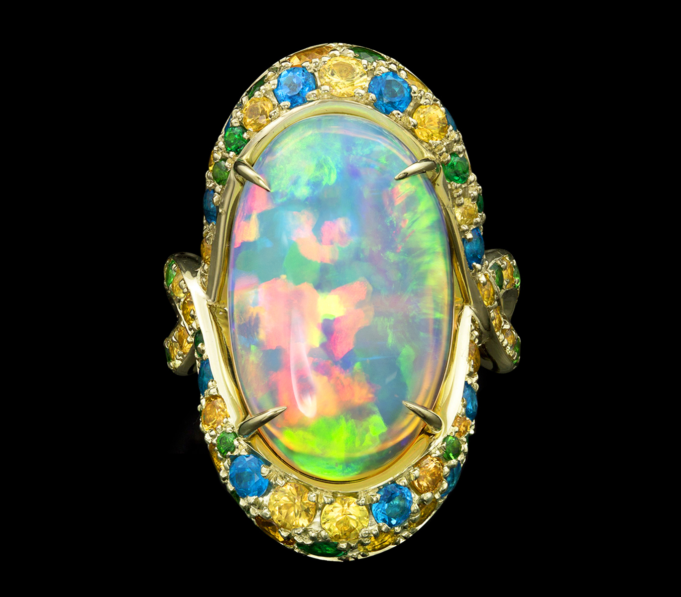 Galatea Ring Opal