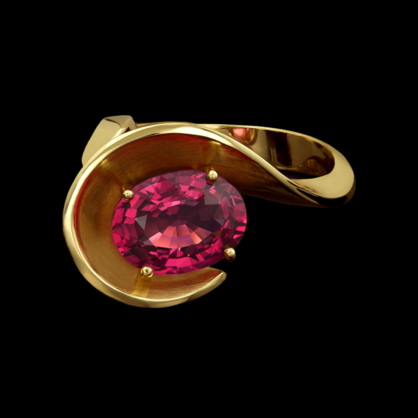 Eleganza Red Spinel Ring