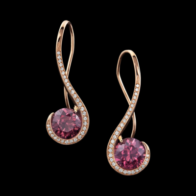 Grace Zircon Earrings