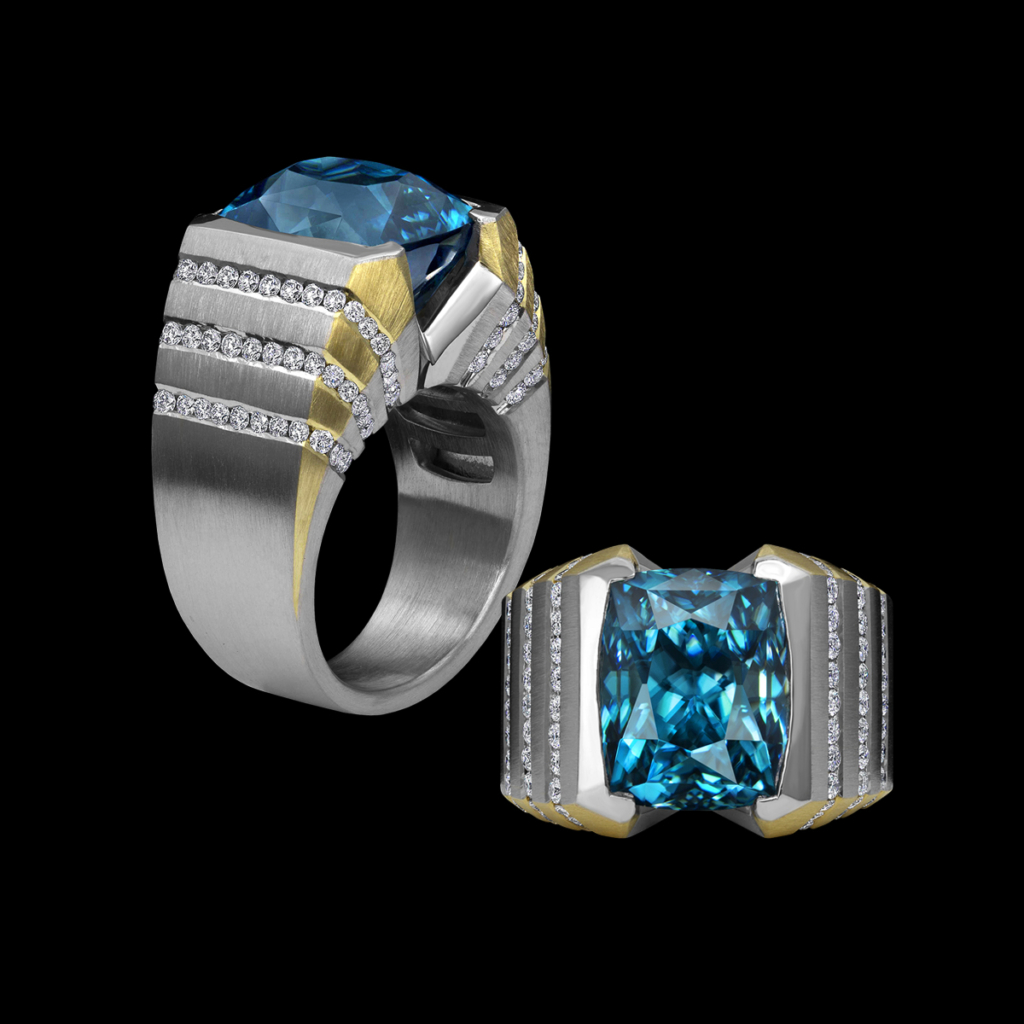Halryon Ring AGTA Spectrum Awards 2018