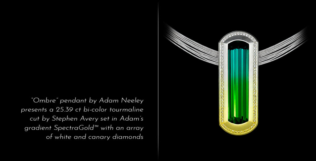 Award Winning Adam Neeley Pendant Ombre