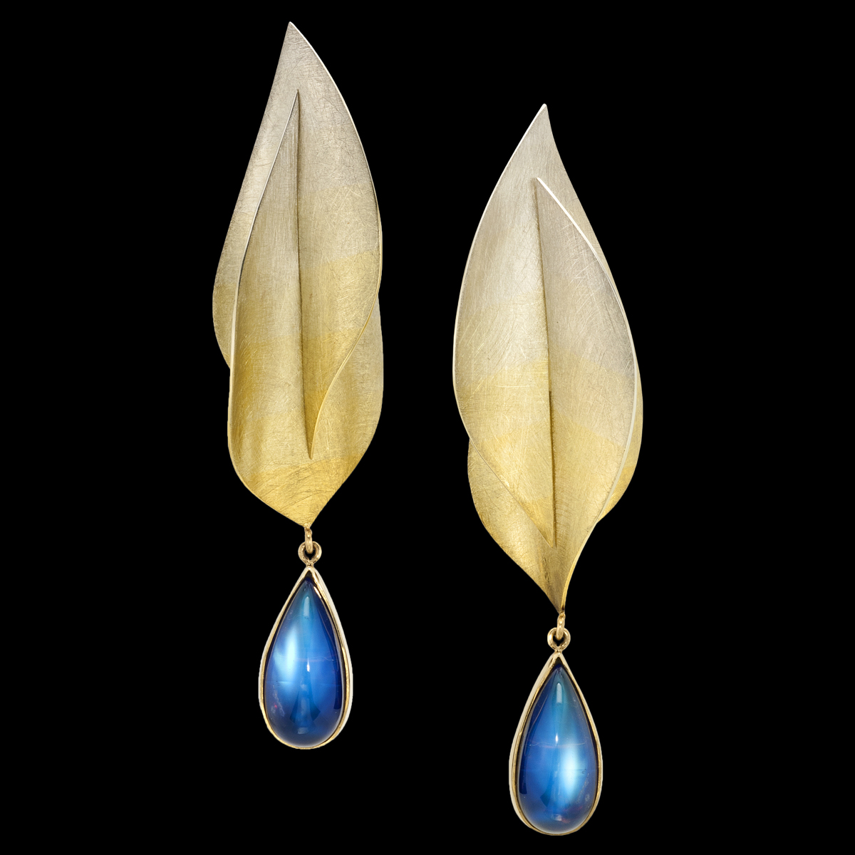Rainbow Moonstone Earrings Spectra