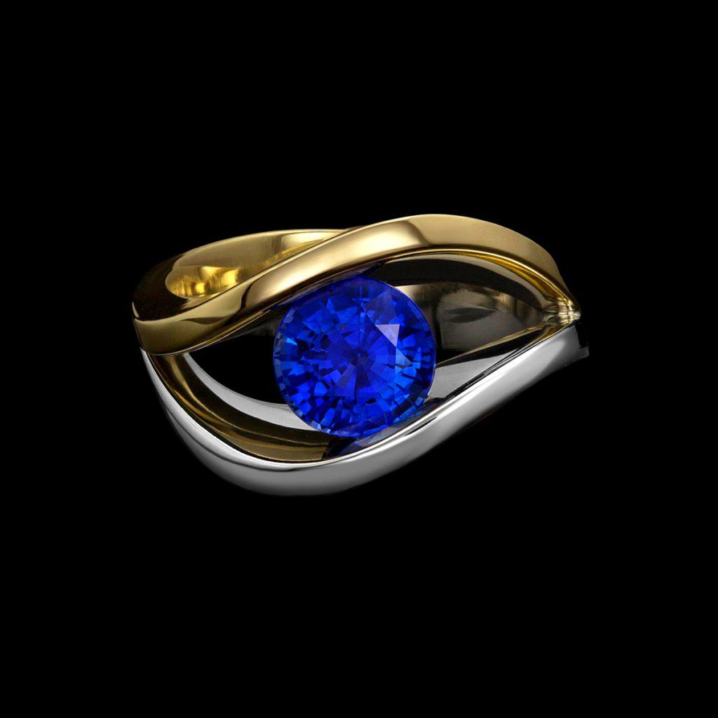 Covet Duo Sapphire Ring