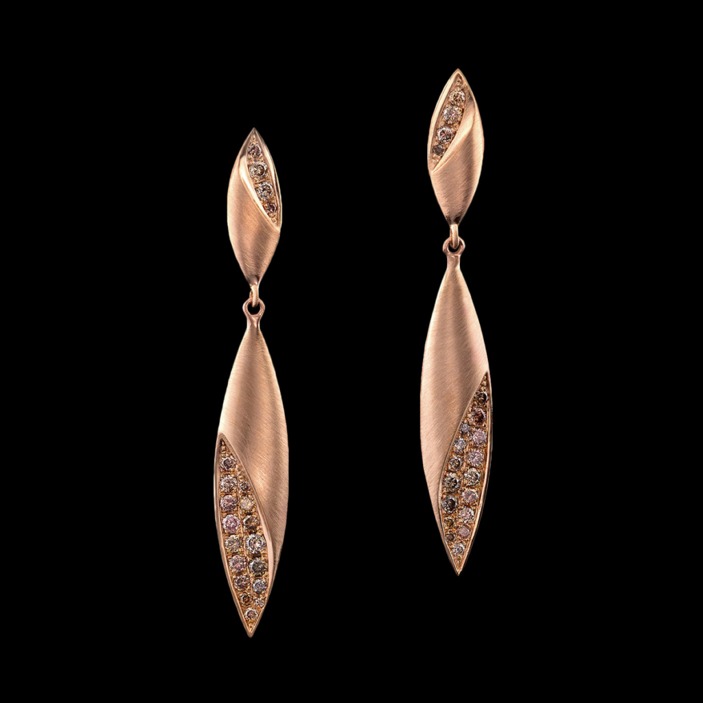 Dune earrings albagold