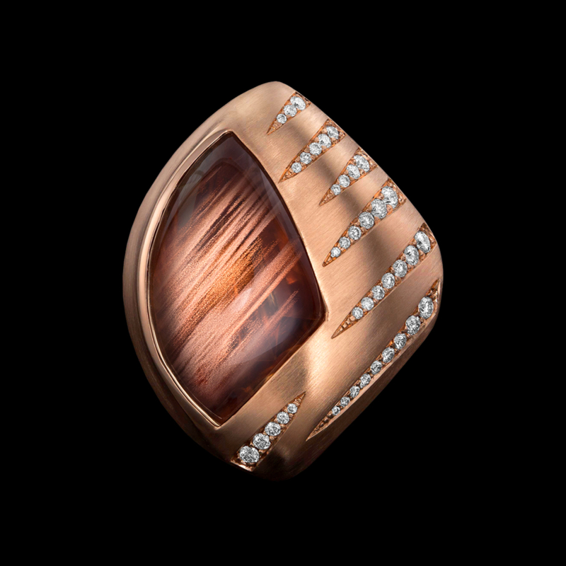 Lumiere Sunstone Ring