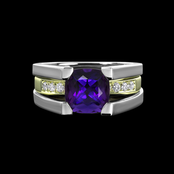 Fortessa Amethyst Ring