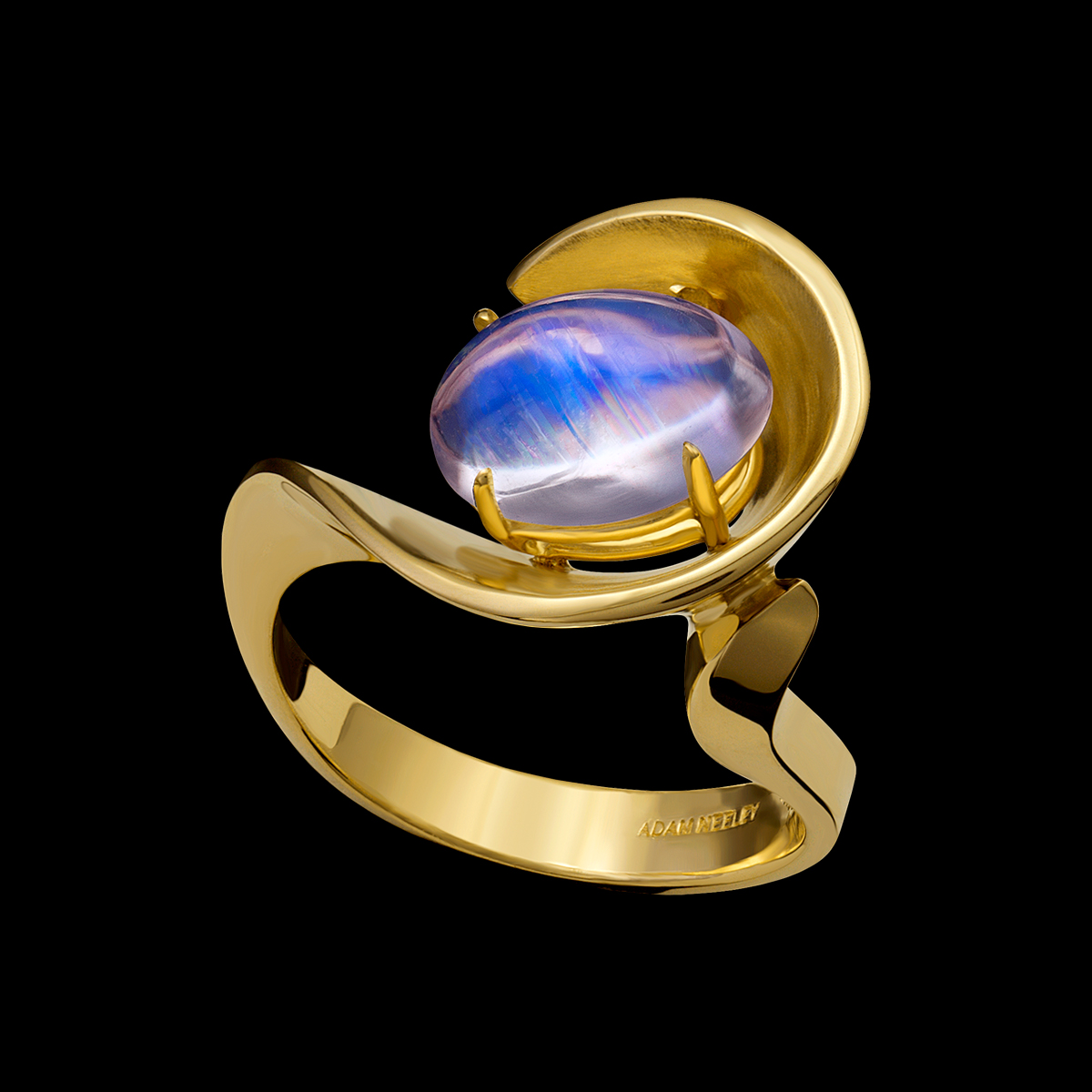 Moonstone Ring Eleganza